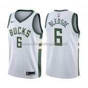 Maglie NBA Milwaukee Bucks 2018 Canotte Eric Bledsoe 6# Association Edition..