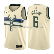 Maglie NBA Milwaukee Bucks 2018 Canotte Eric Bledsoe 6# City Edition..