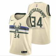 Maglie NBA Milwaukee Bucks 2018 Canotte Giannis Antetokounmpo 34# City Edition..