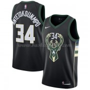 Maglie NBA Milwaukee Bucks 2018 Canotte Giannis Antetokounmpo 34# Statement Edition..