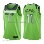 Canotte Basket Bambino Minnesota Timberwolves 2018 Jamal Crawford 11# Statement Edition..