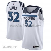 Canotte Basket Bambino Minnesota Timberwolves 2018 Karl Anthony Towns 32# Association Edition..