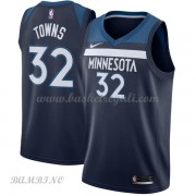 Canotte Basket Bambino Minnesota Timberwolves 2018 Karl Anthony Towns 32# Icon Edition..