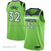 Canotte Basket Bambino Minnesota Timberwolves 2018 Karl Anthony Towns 32# Statement Edition..