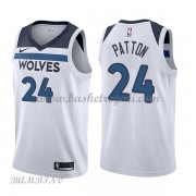 Canotte Basket Bambino Minnesota Timberwolves 2018 Karl Justin Patton 24# Association Edition..