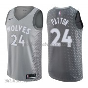 Canotte Basket Bambino Minnesota Timberwolves 2018 Karl Justin Patton 24# City Edition..