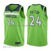 Canotte Basket Bambino Minnesota Timberwolves 2018 Karl Justin Patton 24# Statement Edition..