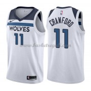 Maglie NBA Minnesota Timberwolves 2018 Canotte Jamal Crawford 11# Association Edition..