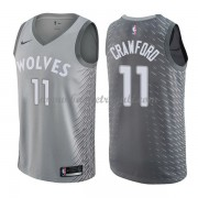 Maglie NBA Minnesota Timberwolves 2018 Canotte Jamal Crawford 11# City Edition..