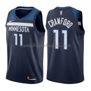 Maglie NBA Minnesota Timberwolves 2018 Canotte Jamal Crawford 11# Icon Edition..