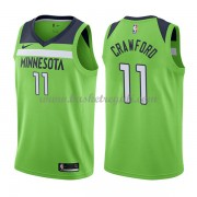 Maglie NBA Minnesota Timberwolves 2018 Canotte Jamal Crawford 11# Statement Edition..