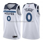 Maglie NBA Minnesota Timberwolves 2018 Canotte Jeff Teague 0# Association Edition..