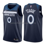 Maglie NBA Minnesota Timberwolves 2018 Canotte Jeff Teague 0# Icon Edition..
