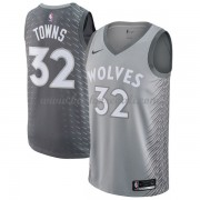 Maglie NBA Minnesota Timberwolves 2018 Canotte Karl Anthony Towns 32# City Edition..