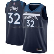Maglie NBA Minnesota Timberwolves 2018 Canotte Karl Anthony Towns 32# Icon Edition..