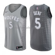 Maglie NBA Minnesota Timberwolves 2018 Canotte Karl Gorgui Dieng 5# City Edition..