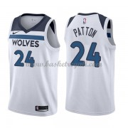 Maglie NBA Minnesota Timberwolves 2018 Canotte Karl Justin Patton 24# Association Edition..