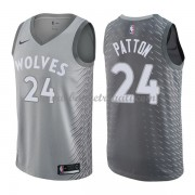 Maglie NBA Minnesota Timberwolves 2018 Canotte Karl Justin Patton 24# City Edition..