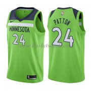 Maglie NBA Minnesota Timberwolves 2018 Canotte Karl Justin Patton 24# Statement Edition..