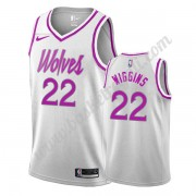 Maglie NBA Minnesota Timberwolves 2019-20 Andrew Wiggins 22# Bianca Earned Edition Canotte Swingman..