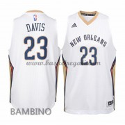 Canotte Basket Bambino Anthony Davis 23# Home 2015-16 Maglia New Orleans Pelicans