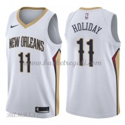 Canotte Basket Bambino New Orleans Pelicans 2018 Jrue Holiday 11# Association Edition..