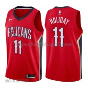 Canotte Basket Bambino New Orleans Pelicans 2018 Jrue Holiday 11# Statement Edition..