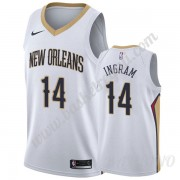Canotte Basket Bambino New Orleans Pelicans 2019-20 Brandon Ingram 14# Bianca Association Edition Sw..