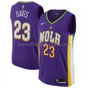 Maglie NBA New Orleans Pelicans 2018 Canotte Anthony Davis 23# City Edition..