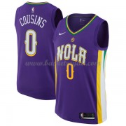 Maglie NBA New Orleans Pelicans 2018 Canotte DeMarcus Cousins 0# City Edition..