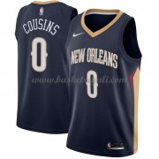 Maglie NBA New Orleans Pelicans 2018 Canotte DeMarcus Cousins 0# Icon Edition..