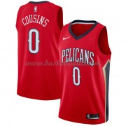 Maglie NBA New Orleans Pelicans 2018 Canotte DeMarcus Cousins 0# Statement Edition..