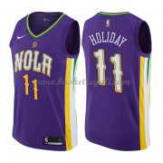Maglie NBA New Orleans Pelicans 2018 Canotte Jrue Holiday 11# City Edition..