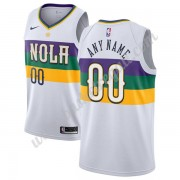 Maglie NBA New Orleans Pelicans 2019-20 Bianca City Edition Canotte Swingman..