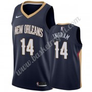 Maglie NBA New Orleans Pelicans 2019-20 Brandon Ingram 14# Marina Militare Icon Edition Canotte Swin..