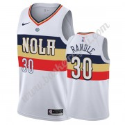 Maglie NBA New Orleans Pelicans 2019-20 Julius Randle 30# Bianca Earned Edition Canotte Swingman..
