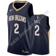 Maglie NBA New Orleans Pelicans 2019-20 Lonzo Ball 2# Marina Militare Icon Edition Canotte Swingman..