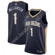Maglie NBA New Orleans Pelicans 2019-20 Zion Williamson 1# Marina Militare Icon Edition Canotte Swin..