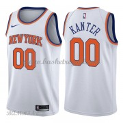Canotte Basket Bambino New York Knicks 2018 Enes Kanter 0# Association Edition..