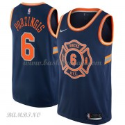 Canotte Basket Bambino New York Knicks 2018 Kristaps Porzingis 6# City Edition..