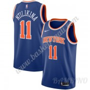 Canotte Basket Bambino New York Knicks 2019-20 Frank Ntilikina 11# Blu Icon Edition Swingman..