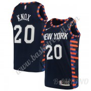 Canotte Basket Bambino New York Knicks 2019-20 Kevin Knox 20# Marina Militare City Edition Swingman..