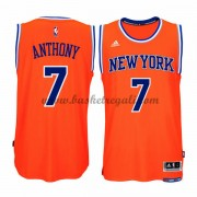Maglie Basket NBA New York Knicks Uomo 2015-16 Carmelo Anthony 7# Alternate Swingman..