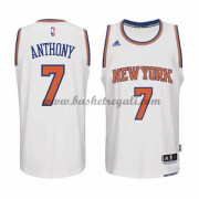 Maglie Basket NBA New York Knicks Uomo 2015-16 Carmelo Anthony 7# Home Swingman..