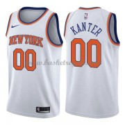 Maglie NBA New York Knicks 2018 Canotte Enes Kanter 0# Association Edition..