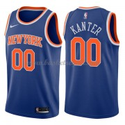 Maglie NBA New York Knicks 2018 Canotte Enes Kanter 0# Icon Edition..