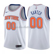 Maglie NBA New York Knicks 2018 Canotte Enes Kanter 0# Statement Edition..