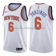 Maglie NBA New York Knicks 2018 Canotte Kristaps Porzingis 6# Association Edition..