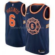 Maglie NBA New York Knicks 2018 Canotte Kristaps Porzingis 6# City Edition..