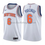 Maglie NBA New York Knicks 2018 Canotte Kristaps Porzingis 6# Statement Edition..